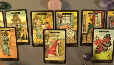 interpretar tarot angelical